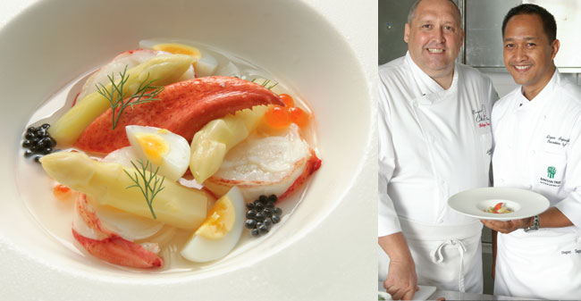 Chef Degan Septoadji Suprijadi & Chef Philippe Gaudal