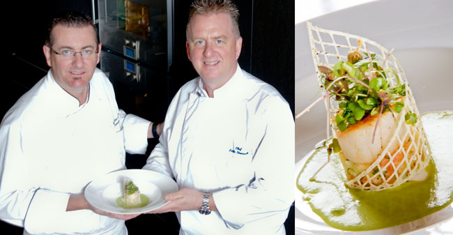 Chef Leslie Stronach & Chef Mark Hagenbach